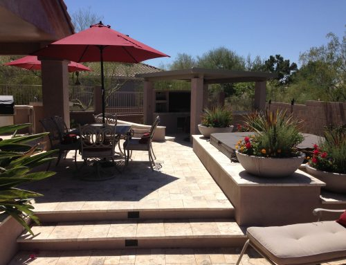 Multi-Levels Create This Phoenix Landscape Design!