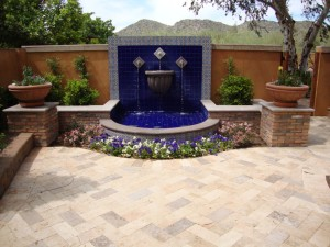 Scottsdale Landscape Water Feature