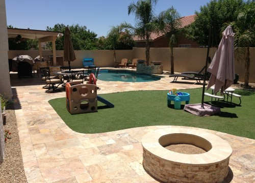 Our Recent Landscaping Design Projects. Phoenix Backyard Landscaping - Phoenix Landscaping Designs, Outdoor Kitchens, And Pavers