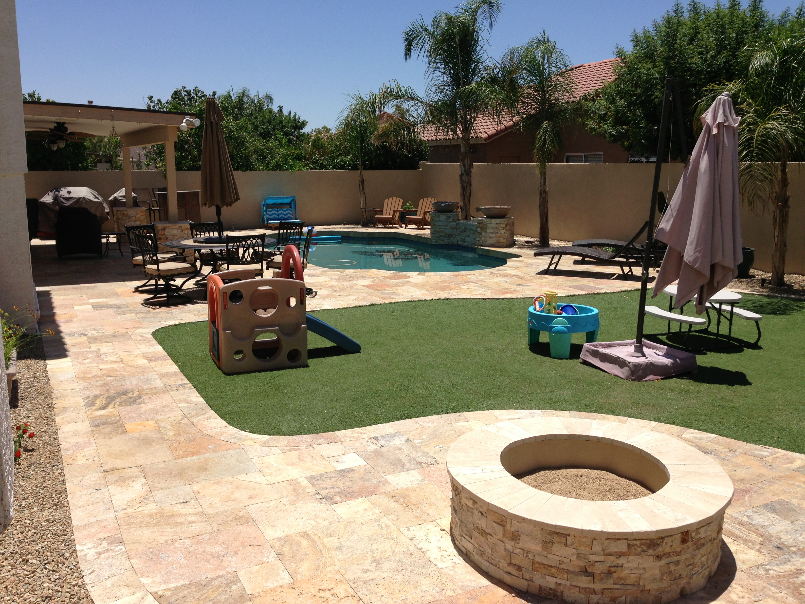 Charmant Phoenix Landscape Renovation Creates Family Fun!