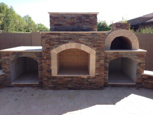 Arizona Landscape Design Pizza Oven