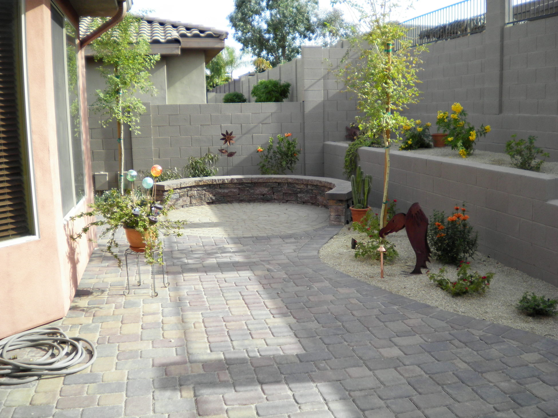 enhanced but also a patio install pavers and paver lawn the butler all or in concrete that this firepit landscape does have grounds regard maintenance than why has rather function