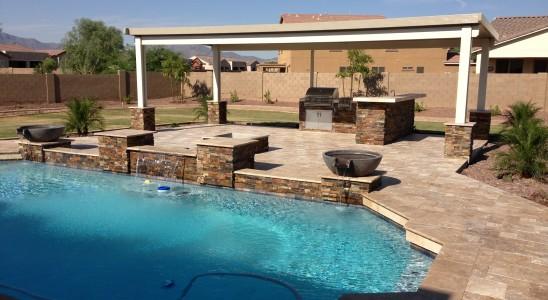 An Arizona Outdoor Living Space to Enjoy this Season