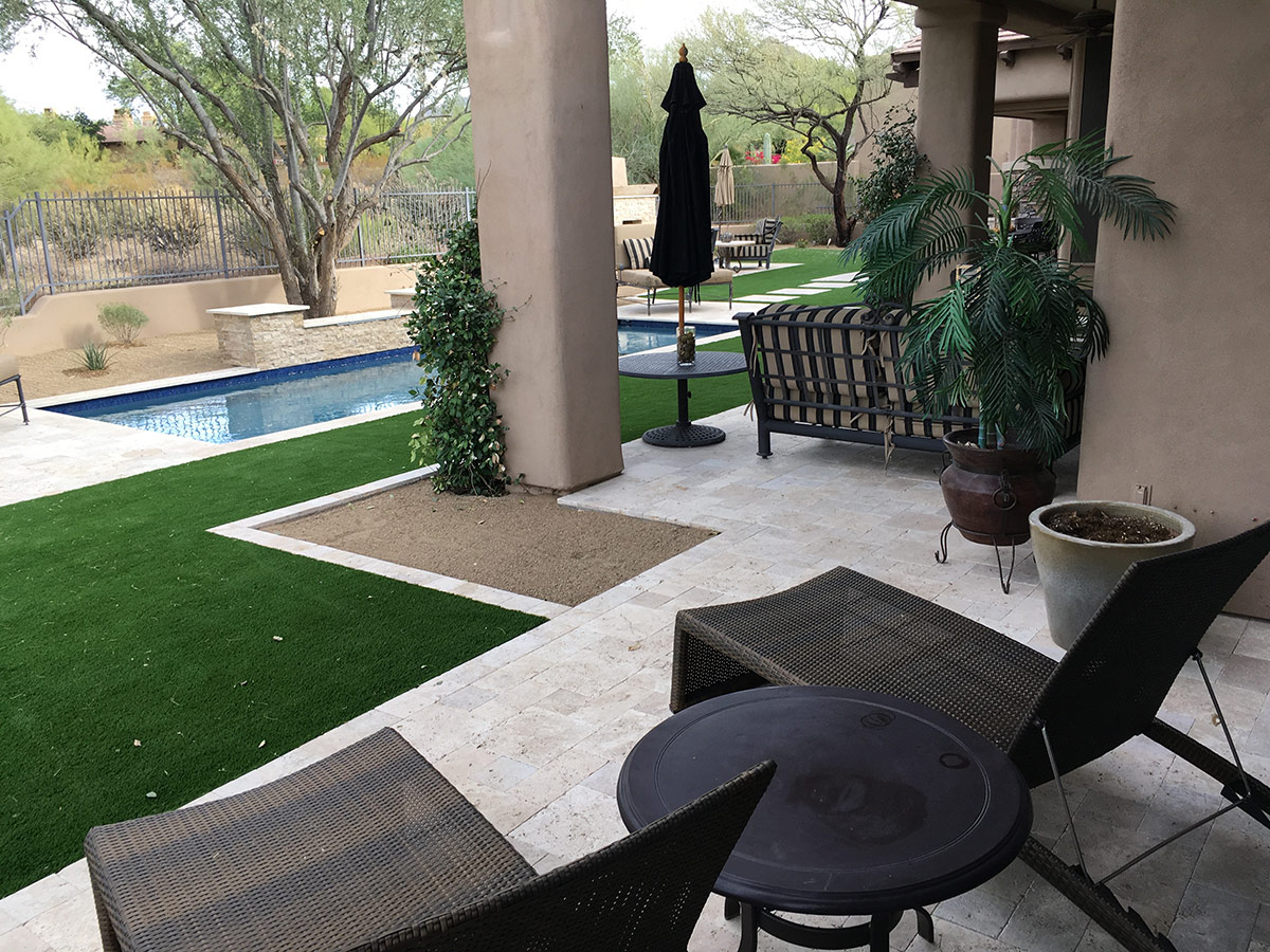 Phoenix Landscaping Designs Outdoor Kitchens And Pavers