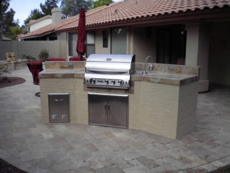 outdoor kitchen designs arizona outdoor kitchens in arizona are a trend 405